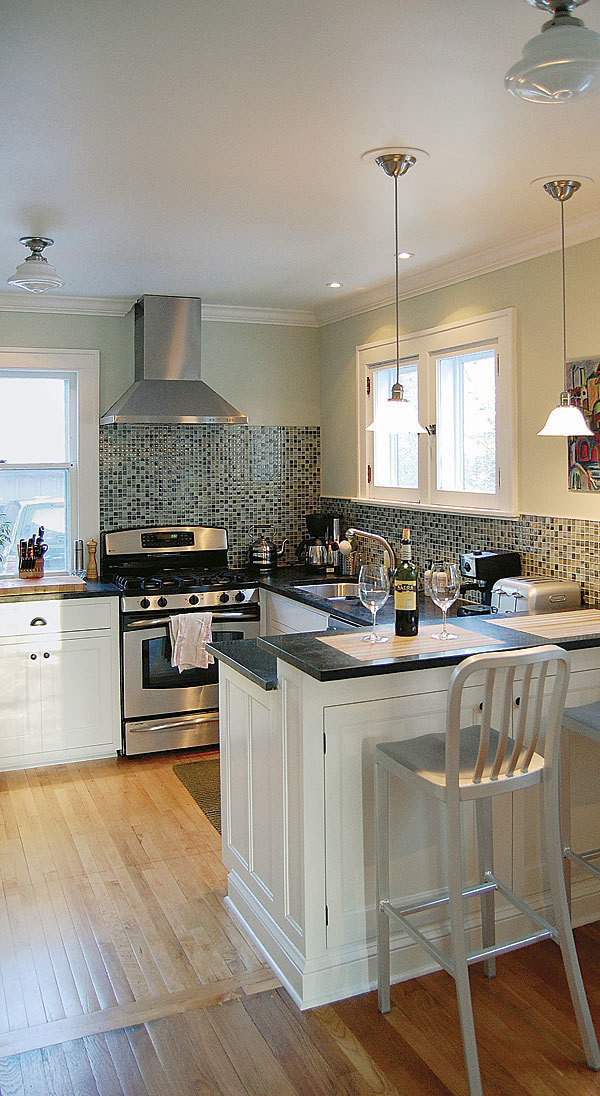 ... Also Made Sure They Complemented The Style Of The Original Built Ins  Throughout The House. Design, Construction, And Photos: Nate Gubin,  Milwaukee, Wis.