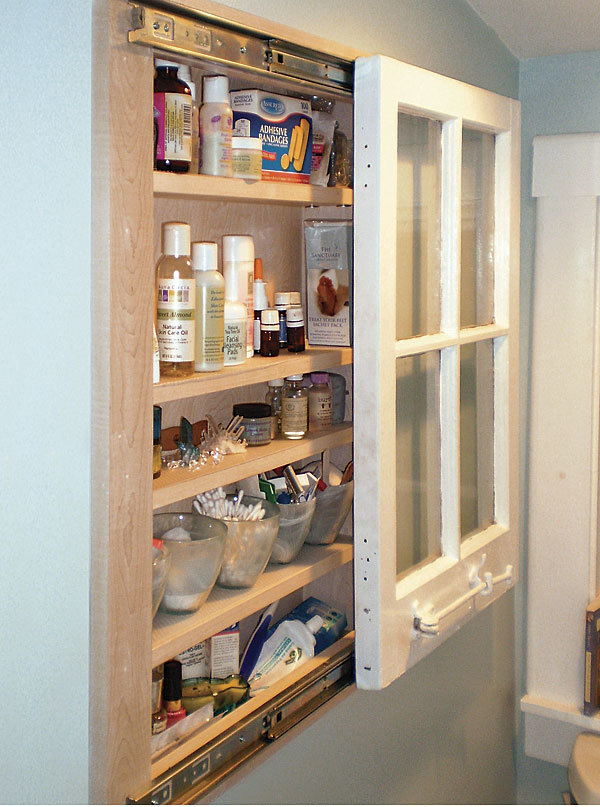 Recycled Window Cabinet - Fine Homebuilding
