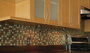 Retrofit Undercabinet Lights In Frameless Cabinets Fine Homebuilding - Undermount lighting for kitchen cabinets