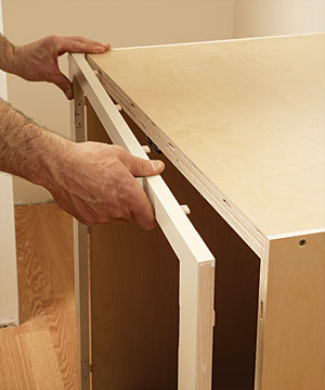 How to Install Cabinets in Tight Spots - Fine Homebuilding
