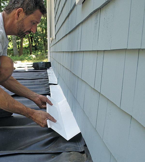 Site Built Deck Drainage Fine Homebuilding