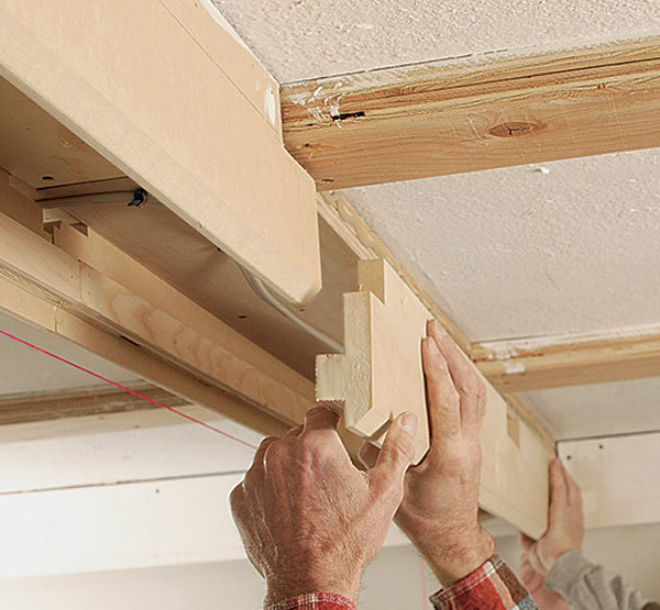 Tips for a coffered ceiling for Homebuilding com