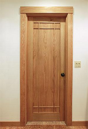Laminated custom interior doors fine homebuilding for Custom interior doors