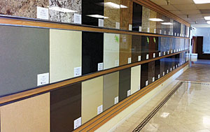 slabs in stock the choices for prefab granite countertops have grown in the past few years at cornerstone home design in san francisco