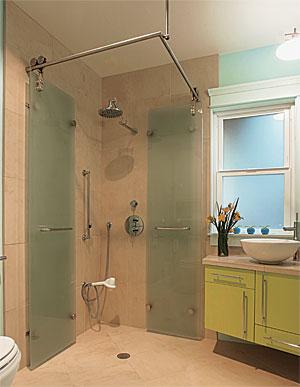 foldaway shower stall