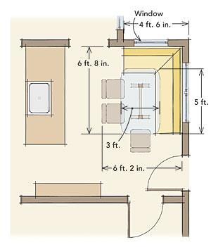 Comfortable Dining Nooks Fine Homebuilding
