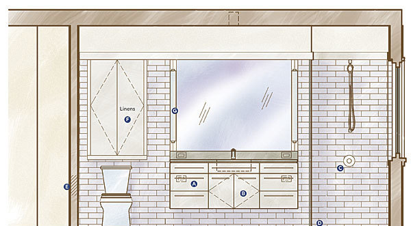 how to remodel a bath for accessibility - fine homebuilding