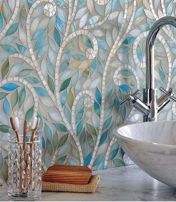 Kitchen Wall Tiles Design India: Indian-Inspired Mosaics