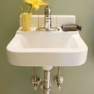 Bathroom Sinks That Mount On The Wall what's the difference: bathroom sinks - seven basic styles - fine