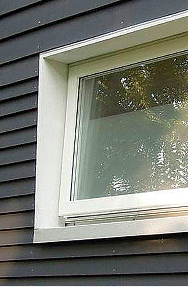 Windows in double stud walls in betweenies fine for Window flashing
