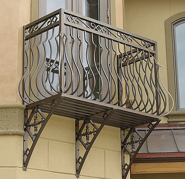 Wrought iron balcony construction and 9 best iron for Uses of balcony