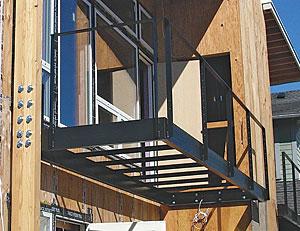 Second Story Balconies Fine Homebuilding