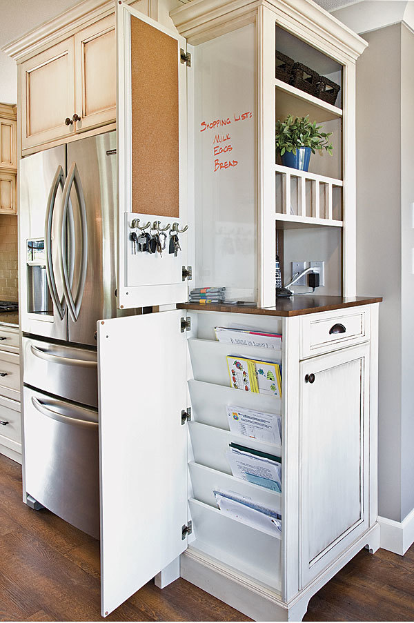 Clever cabinet fine homebuilding for Clever kitchen cabinet ideas