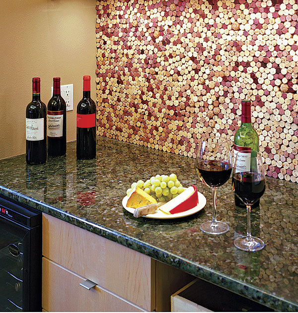 Wine Lover S Backsplash Fine Homebuilding
