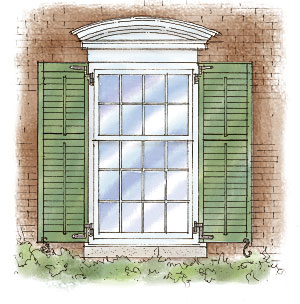 Getting Shutters Right Fine Homebuilding