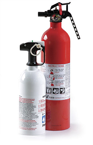 what's the difference: residential fire extinguishers - fine