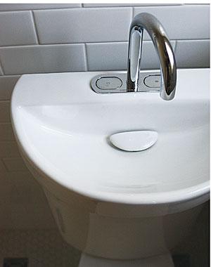 Three-Quarter Bath in 9 Sq. Ft. 021247018-sink