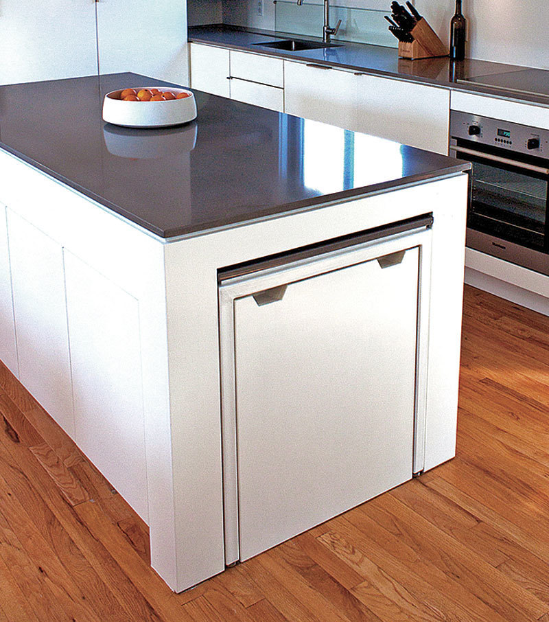 hideaway kitchen table homebuilding