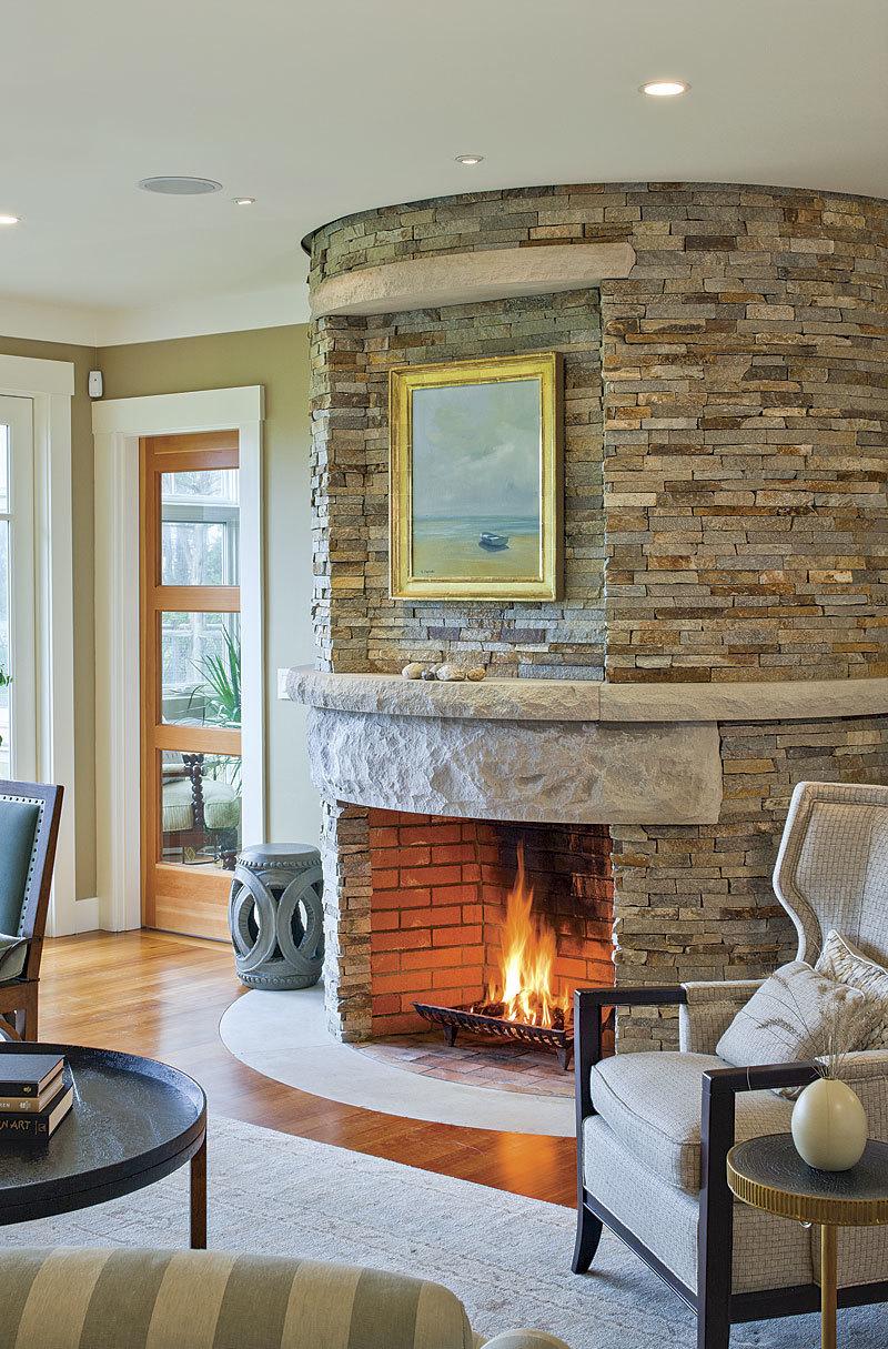 All-Around Warmth: Fireplace Design - Fine Homebuilding