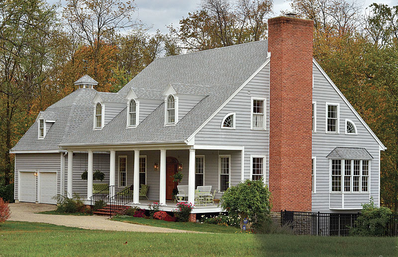 William E Poole Home Designs Part - 42: Inspired By The Success Of Their Barn-building Project, Janet And Kim  Purchased House Plans From Architect William E. Poole And Began  Constructing Their ...