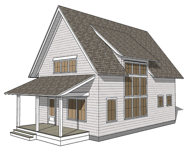 Making shed dormers work fine homebuilding for House plans with shed dormers