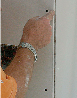 how to finish cement board joints