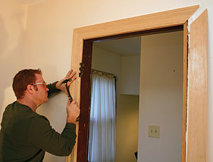 How To Remove Paint From A Wooden Door Jamb