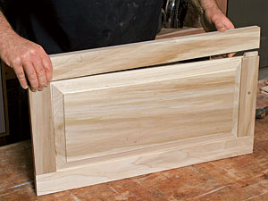 A veteran cabinetmaker shows you how to build a Shaker-style cabinet door in six easy steps & Making raised-panel doors on a tablesaw - Fine Homebuilding Pezcame.Com