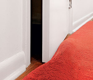 The necessity of trimming a door goes along with remodeling projects where the floor rises because of added carpeting new tile or extra layers of ... & Trim the bottom of a door - Fine Homebuilding Pezcame.Com