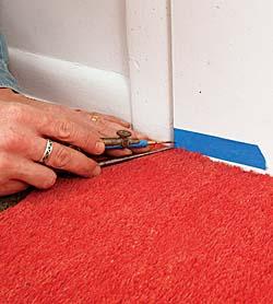 Mark and score where you\u0027ll cut & Trim the bottom of a door - Fine Homebuilding Pezcame.Com