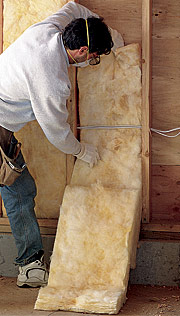Do 39 s and don 39 ts of installing fiberglass insulation fine for Compressed fiberglass insulation
