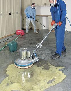 A Durable Garage Floor Finish Fine Homebuilding