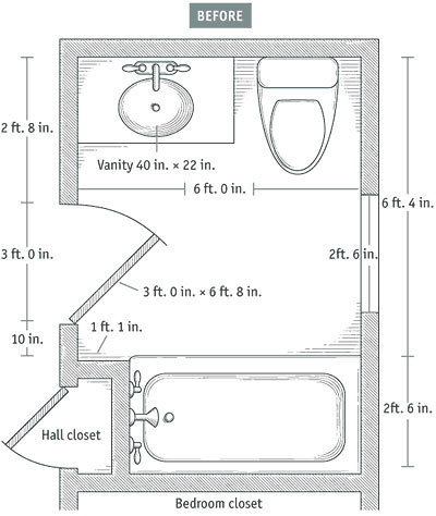 Bathroom Layouts that Work Fine Homebuilding