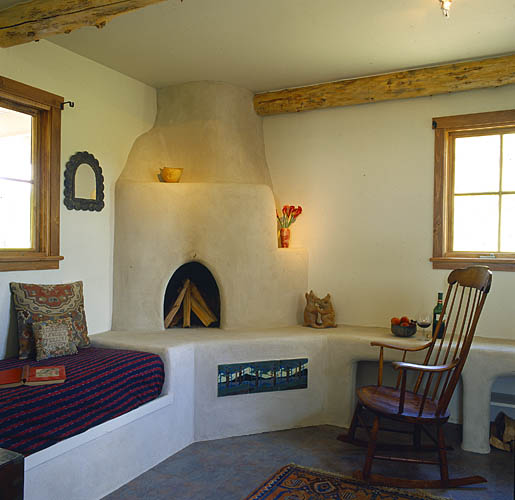A gallery of unique fireplaces fine homebuilding for Southwestern fireplaces