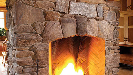 A gallery of unique fireplaces fine homebuilding for Rumford fireplaces