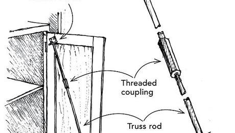 Straightening a warped cabinet door - Fine Homebuilding