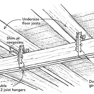 how to fix noisy floor