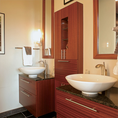 Wide Open Baths for Small Spaces. 7 Small Bathroom Layouts