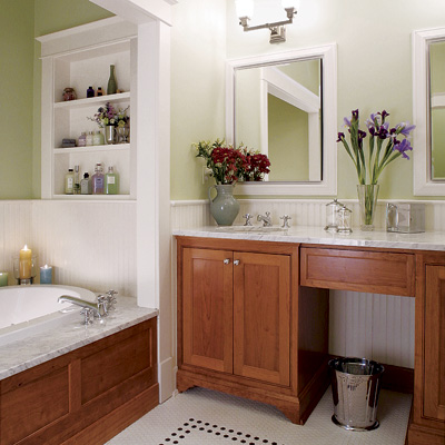 six bathroom design tips - Small Designer Bathroom