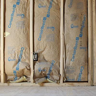 How it works fine homebuilding for Fiberglass batt insulation r value