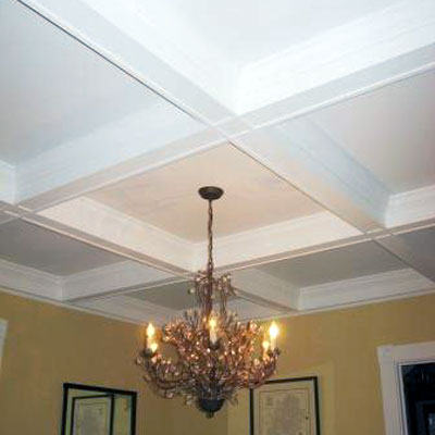CofferedCeiling Ideas Fine Homebuilding - Coffered ceiling ideas
