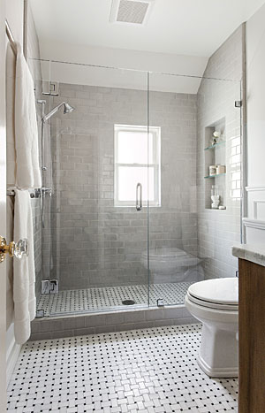 Small bathroom ideas fine homebuilding - Small full bathroom remodel ideas ...