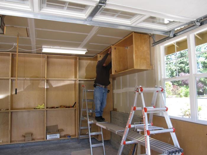Garage cabinets fine homebuilding for Design my own garage