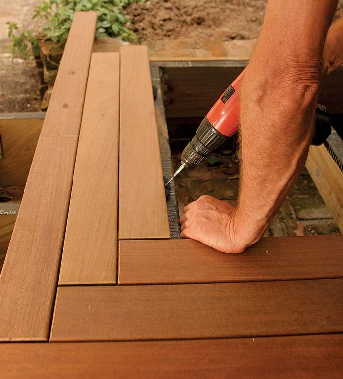 Ipe deck installation leads to lessons learned fine for Parquet composite exterieur