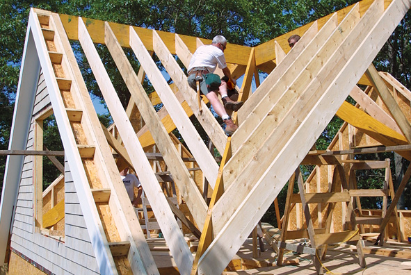 Announcing our roof framing gallery challenge winners fine homebuilding - Build wood roof abcs roof framing ...