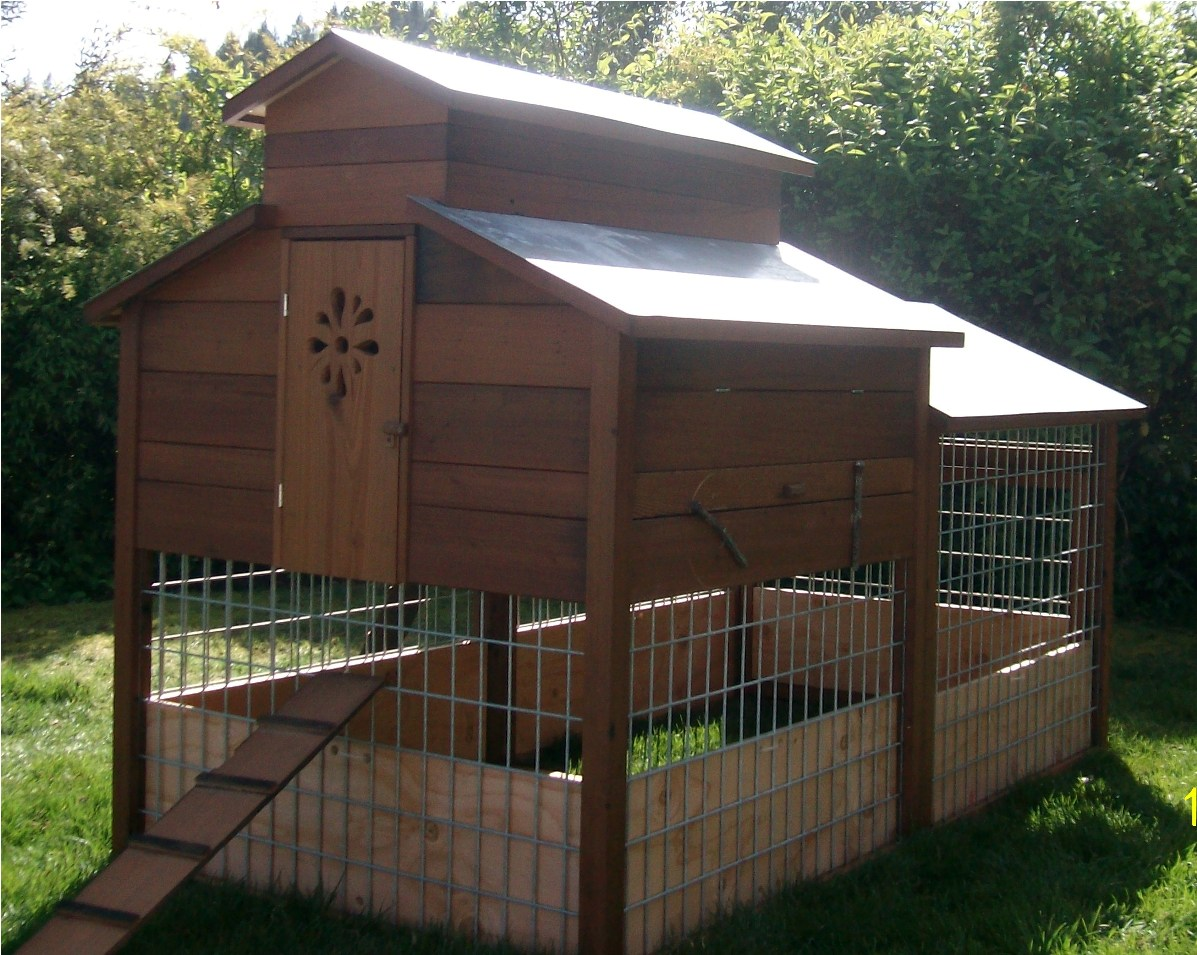 Salvaged Redwood Hen House Fine Homebuilding