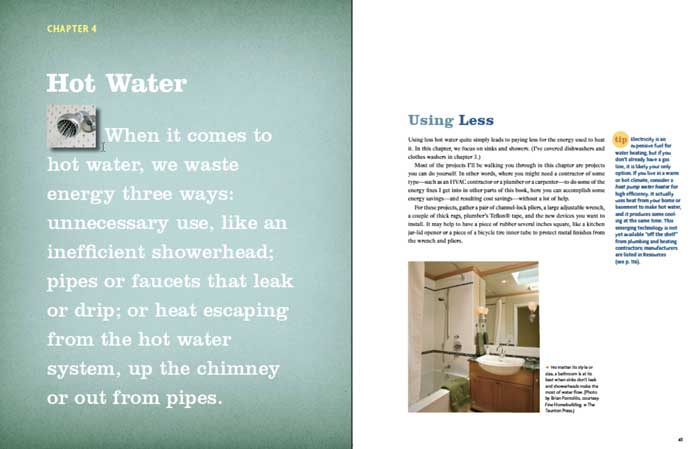 Save energy on your hot water