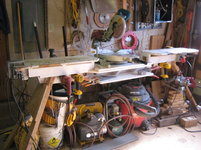 portable chop saw table. article image portable chop saw table
