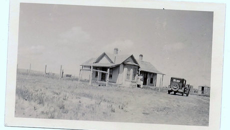 In 1930, my parents bought this house, built in the 1890s, for $900 with  money borrowed from the Kimball County Bank. The house came with about  four acres of land and several small, deteriorating outbuildings.