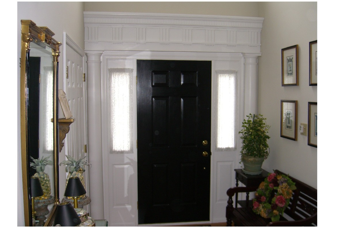 Interior Front Door Trim   Historical Replica   Fine Homebuilding